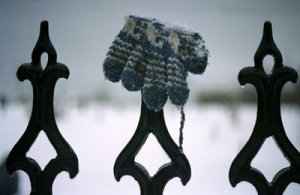 Snow glove, snow love.
