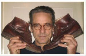 Jeremy Irons gives Shoe Drive the boot.