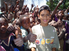 UNICEF's Bilaal Rajaan in Malawi.