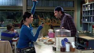 Luke's Diner: Serves the best fictional coffee in Star's Hollow