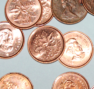 Pretty pennies: They are, aren't they?