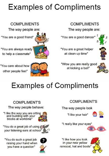 Комплимент с английского