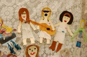 "The Good Lovelies ""Action Figures."""