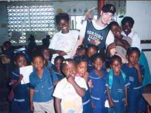 Classroom in Jamaica.