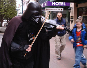 May the fiddle be with you.