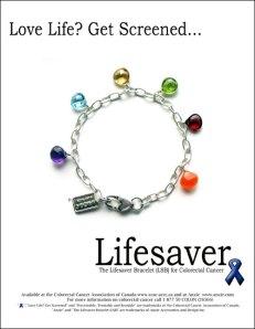 I wear a similar bracelet in memory of a dear friend who bravely fought the disease.