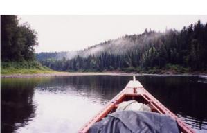 Restigouche by canoe ... how Canadian can you get? Oui?