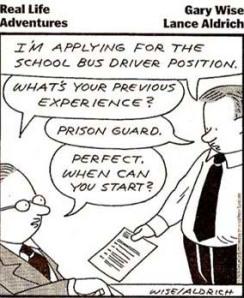 School Bus Driver Cartoon