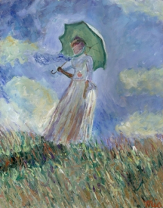 Claude Monet kind of day.