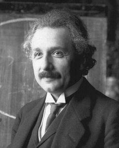 Albert Einstein: Genius schmenius, doesn't he have the kindest eyes?