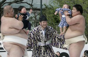 Japan's Crying Baby Contest* (I kid you not).