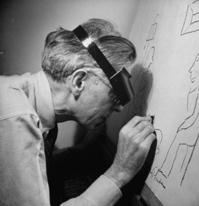 James Thurber's failing eyesight didn't hold back his creativity.