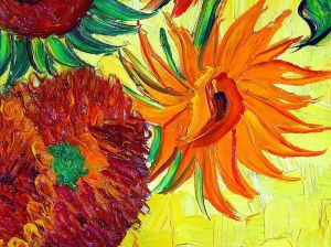 A detail from a Vincent Van Gogh painting ... ain't it grand?