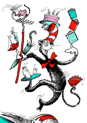 Day 490: Cat in the hat