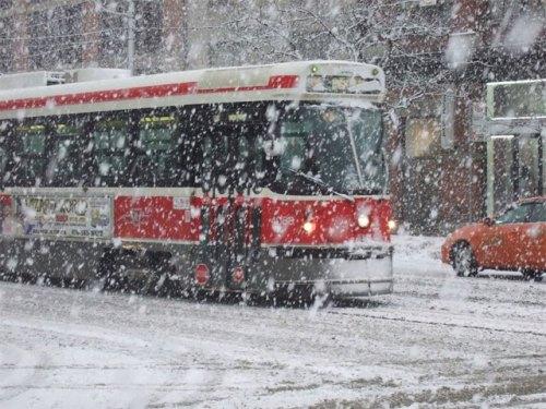 TTC-Streetcar-Snow-Toronto